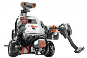 Robot built using Lego NXT bricks